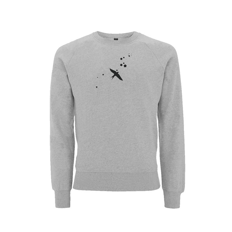Felix Jaehn LOGO ART SWEATER Sweater, unisex,grey