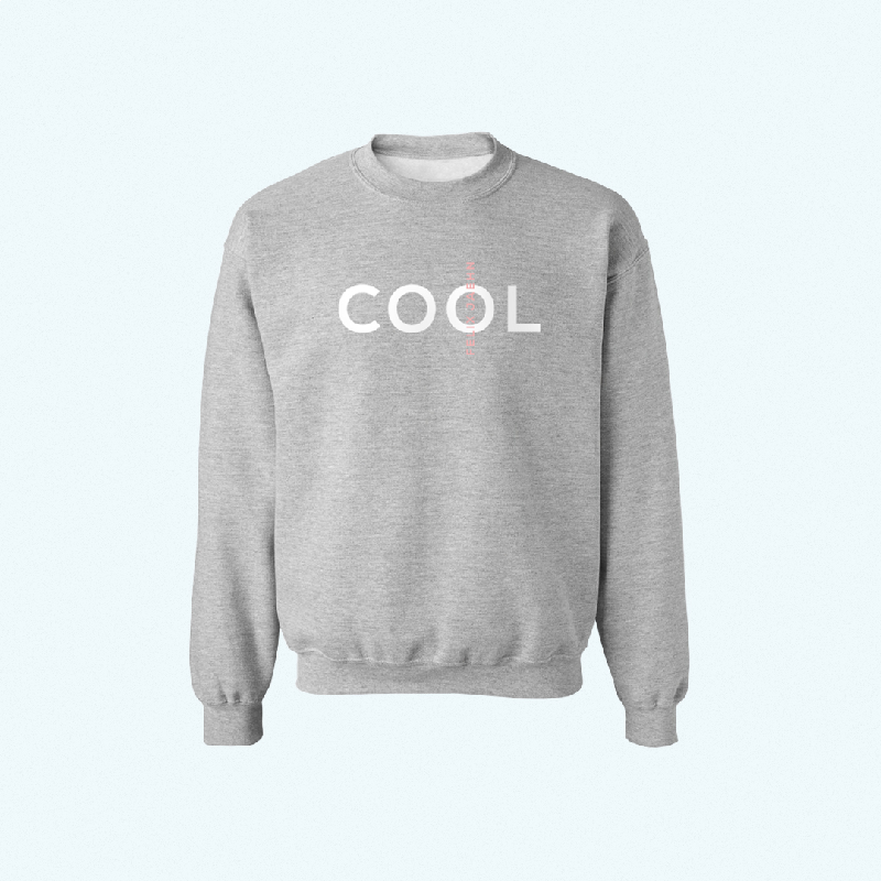 Felix Jaehn COOL SWEATER Sweater, grey