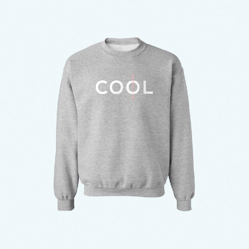 Felix Jaehn COOL SWEATER Sweater grey