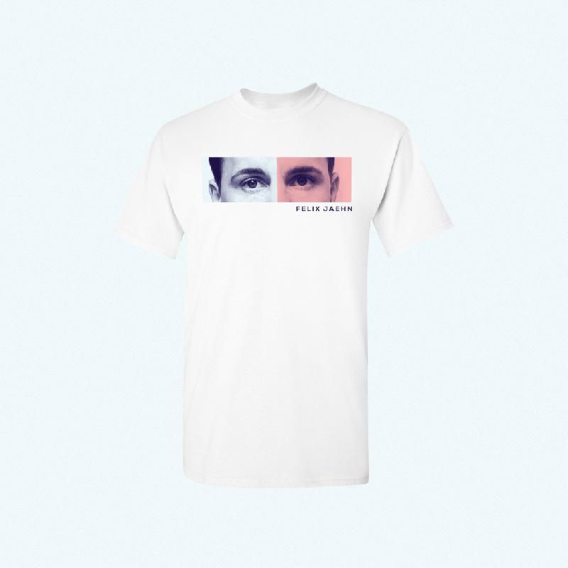 Felix Jaehn EYES TEE T-Shirt, Weiss