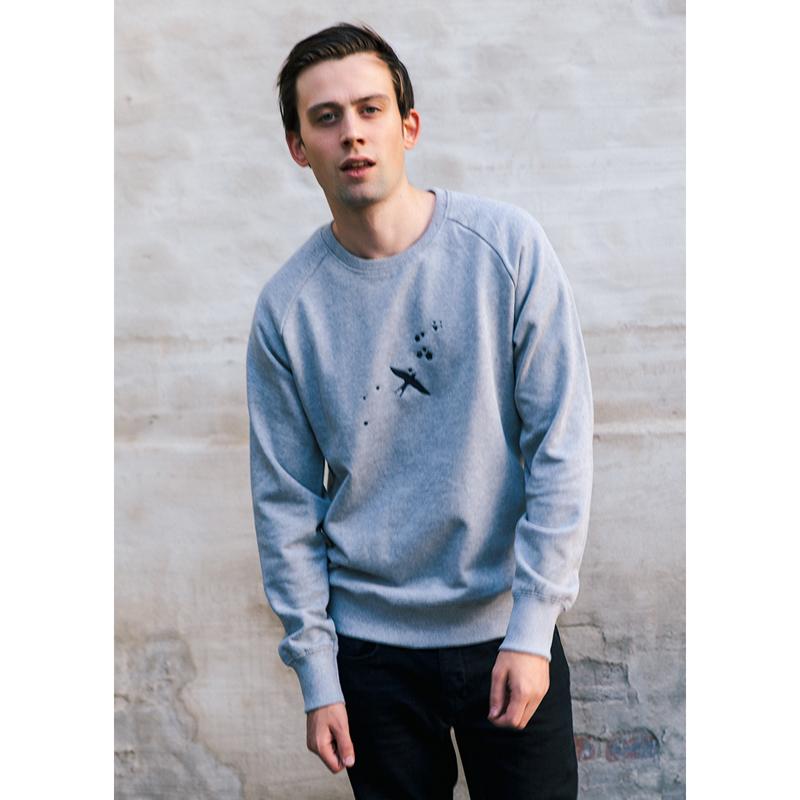 Felix Jaehn COLLAECTION SWEATER LOGO ART Sweater unisex, grey