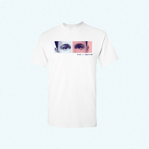 Felix Jaehn EYES TEE T-Shirt white
