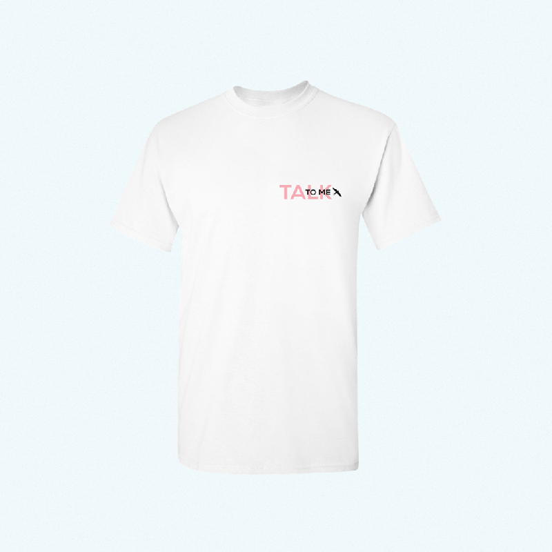 Felix Jaehn TALK TO ME TEE T-Shirt, White